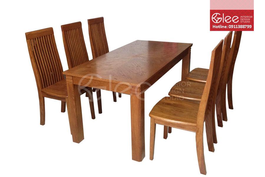 bộ bàn ăn hiện đại, bo ban an hien dai