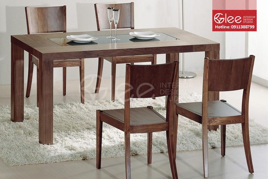 bàn ăn gỗ tự nhiên, ban an go tu nhien